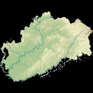 Carte du Conseil départemental de la Haute-Saône