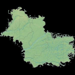 Carte du Conseil départemental du Loir-et-Cher