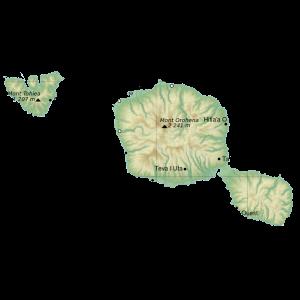 Carte Polynésie-française