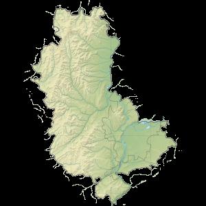 Carte du Conseil départemental du Rhône