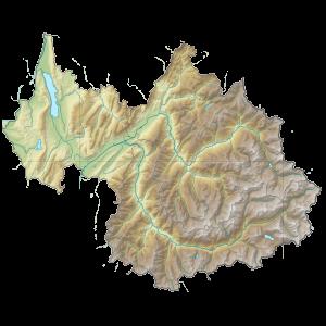 Carte du Conseil départemental de la Savoie
