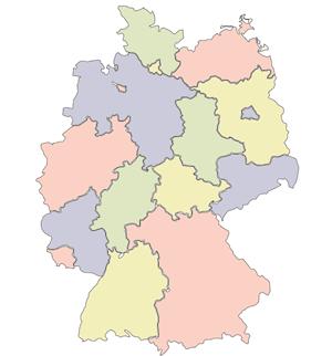 Regionen des Landes