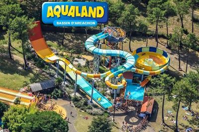 Parc D Attraction Aqualand Mairie De Gujan Mestras Et Sa Ville