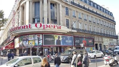 Logo Gaumont Opéra côté Capucines