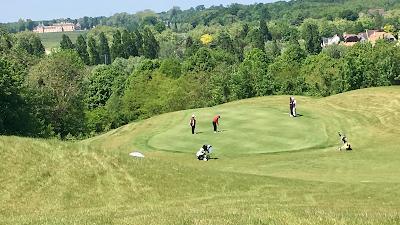 Logo Golf Blue Green Marolles En Brie