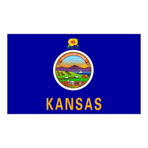 Logo State  Kansas