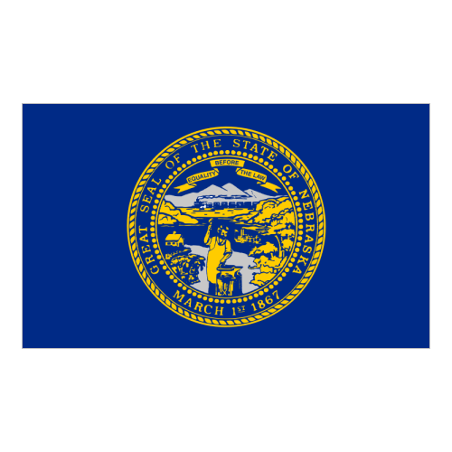 Logo State  Nebraska