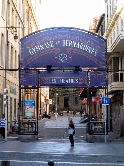 Logo Théâtre du Gymnase
