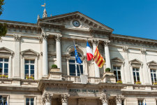 Bulletin municipal d'une mairie française