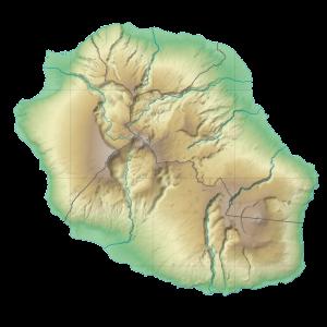 Carte La Réunion