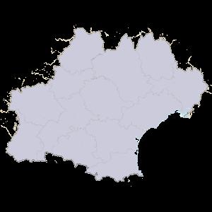 Carte du Conseil régional d'Occitanie