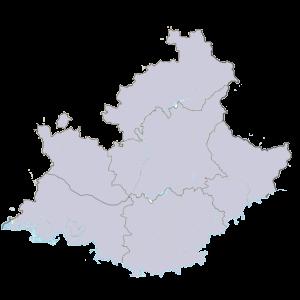 Carte Provence-Alpes-Côte d'Azur