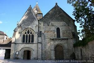 Église Paroissiale Saint Symphorien à Azay-le-Rideau (37190), la ...