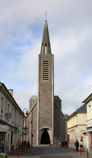 photo de Saint Martin (église de Bruz)
